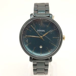 NEW FOSSIL Jacqueline Date Watch ES4409 $155 